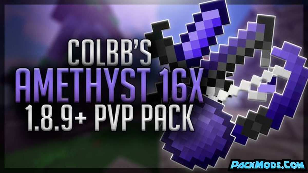 amethyst pvp resource pack - Amethyst 1.16.3 PvP Resource Pack 1.15.2/1.14.4/1.13.2/1.12.2 (16x)