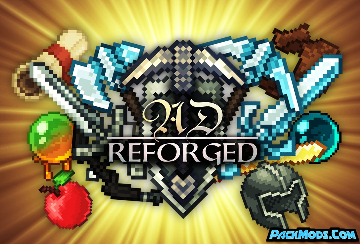 ad reforged resource pack - AD Reforged 1.17/1.16.5 Resource Pack 1.15.2/1.14.4/1.13.2
