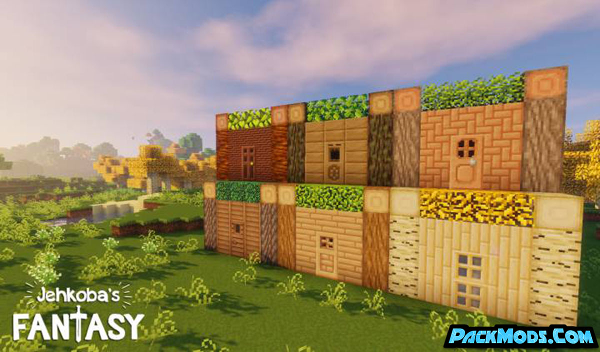 jehkobas fantasy resource pack 3 - Jehkoba's Fantasy 1.17/1.16.5 Resource Pack 1.15.2/1.14.4/1.13.2/1.12.2