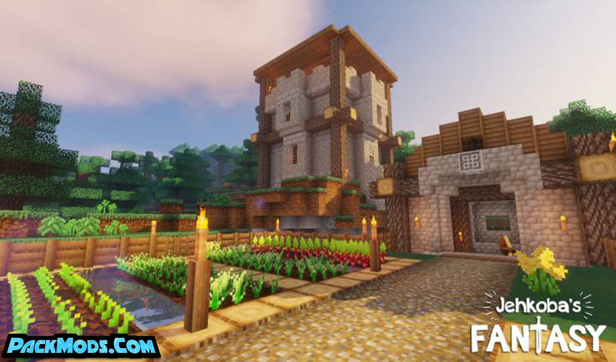 jehkobas fantasy resource pack - Jehkoba's Fantasy 1.17/1.16.5 Resource Pack 1.15.2/1.14.4/1.13.2/1.12.2