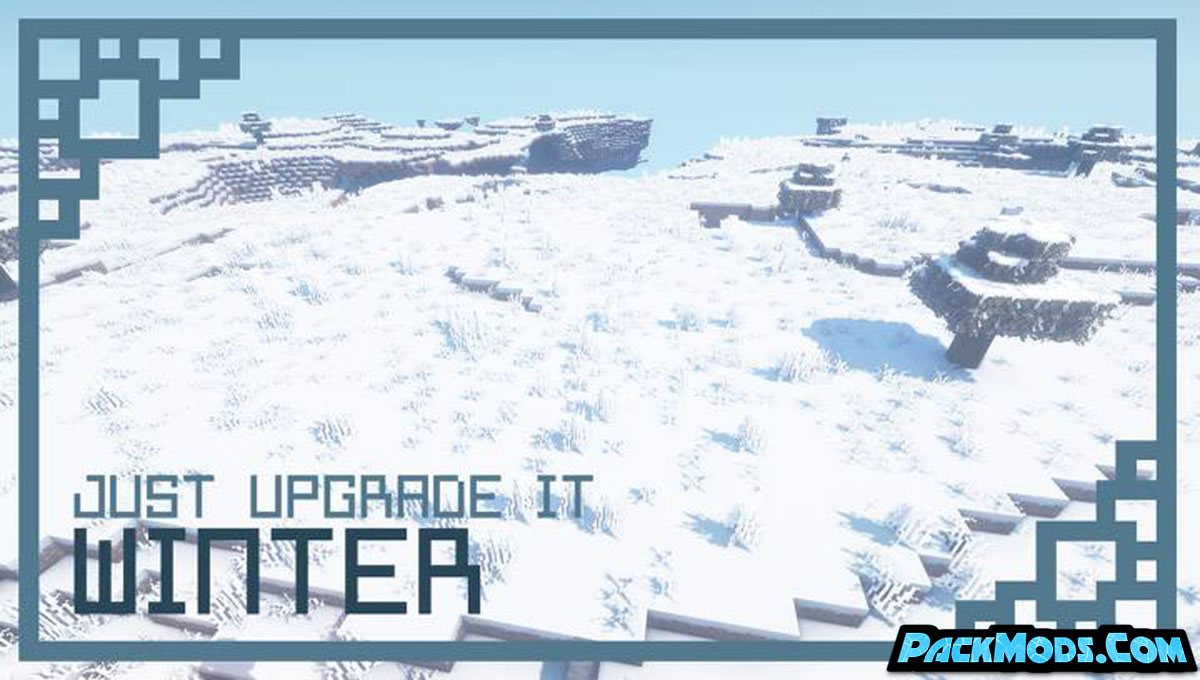 just upgrade it winter edition resource pack - Just Upgrade It: Winter Edition 1.16.5 Resource Pack 1.15.2/1.14.4