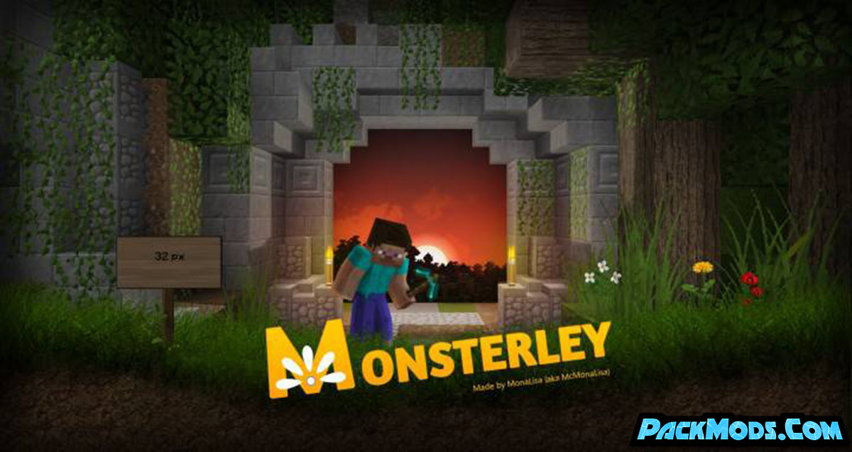 monsterley resource pack - Monsterley 1.16.5 Resource Pack 1.15.2/1.14.4/1.13.2/1.12.2