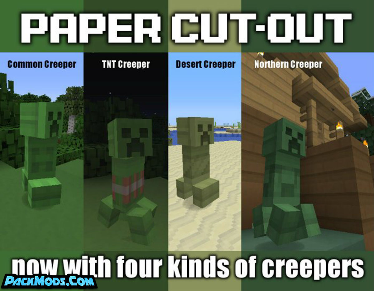 paper cut out resource pack - Paper Cut-Out 1.16.3 Resource Pack 1.15.2/1.14.4/1.13.2/1.12.2