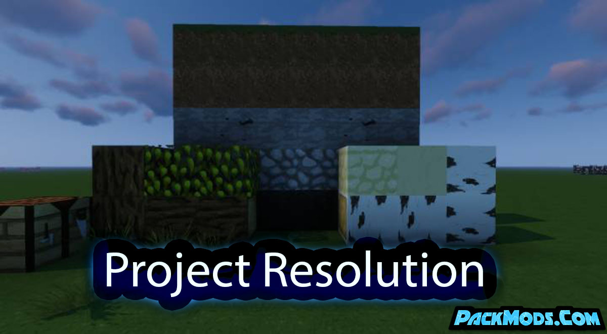 project resolution resource pack - Project Resolution 1.16.5 Resource Pack 1.15.2/1.14.4/1.13.2/1.12.2