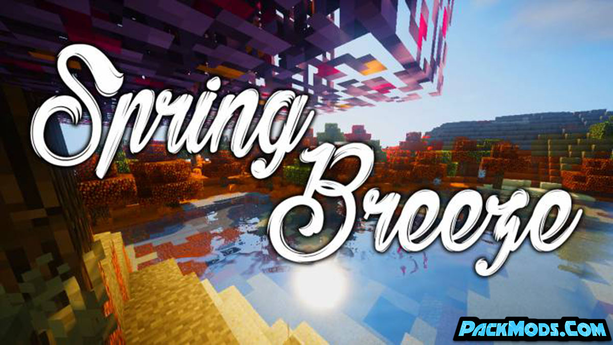 spring breeze resource pack - Spring Breeze 1.17/1.16.5 Resource Pack 1.15.2/1.14.4/1.13.2/1.12.2