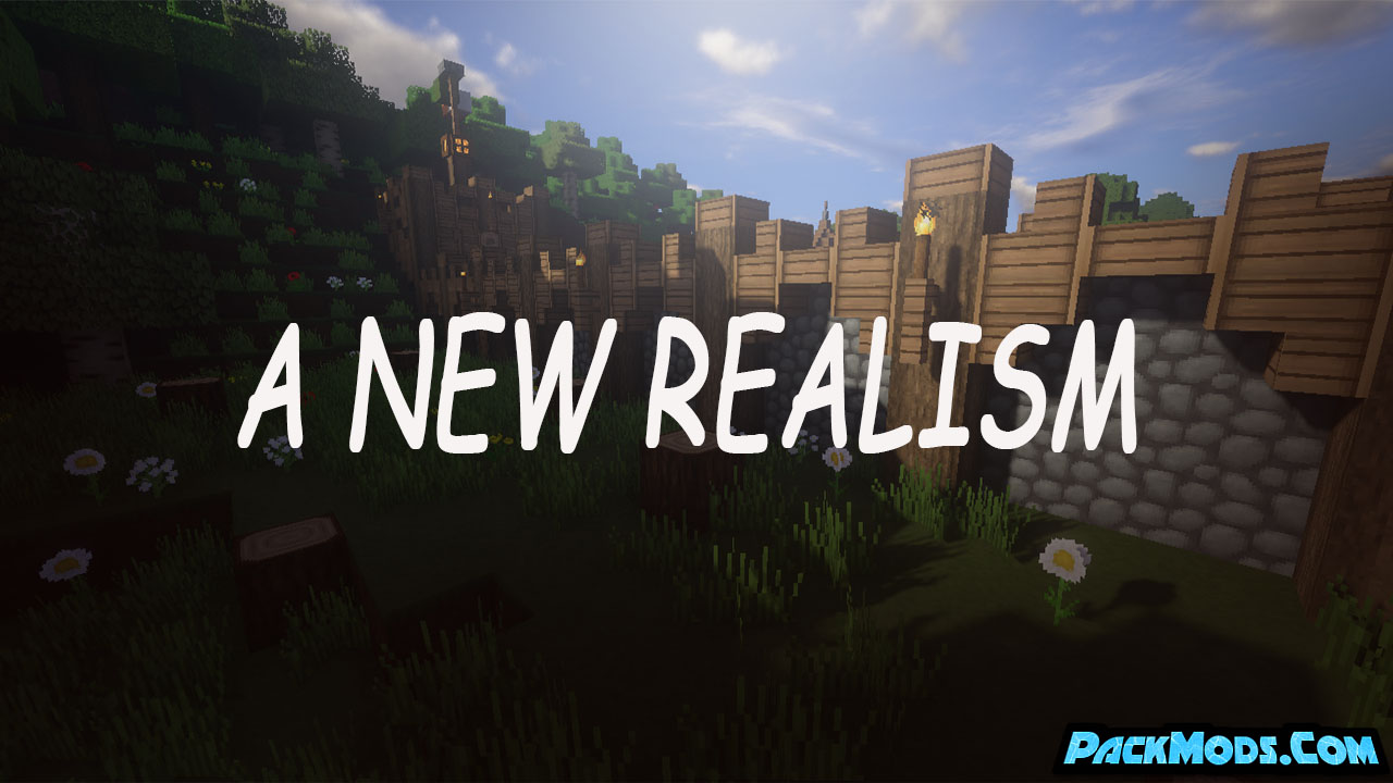 a new realism resource pack - A New Realism 1.17/1.16.5 Resource Pack 1.15.2/1.14.4/1.13.2/1.12.2