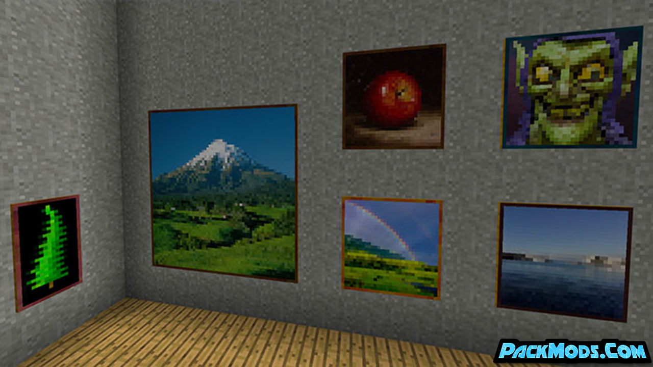 better paintings resource pack 2 - Better Paintings 1.17/1.16.5 Resource Pack 1.15.2/1.14.4/1.13.2/1.12.2