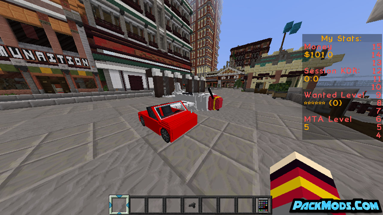 minetheftauto resource pack 4 - MineTheftAuto 1.17/1.16.4 Resource Pack 1.15.2/1.14.4/1.13.2/1.12.2