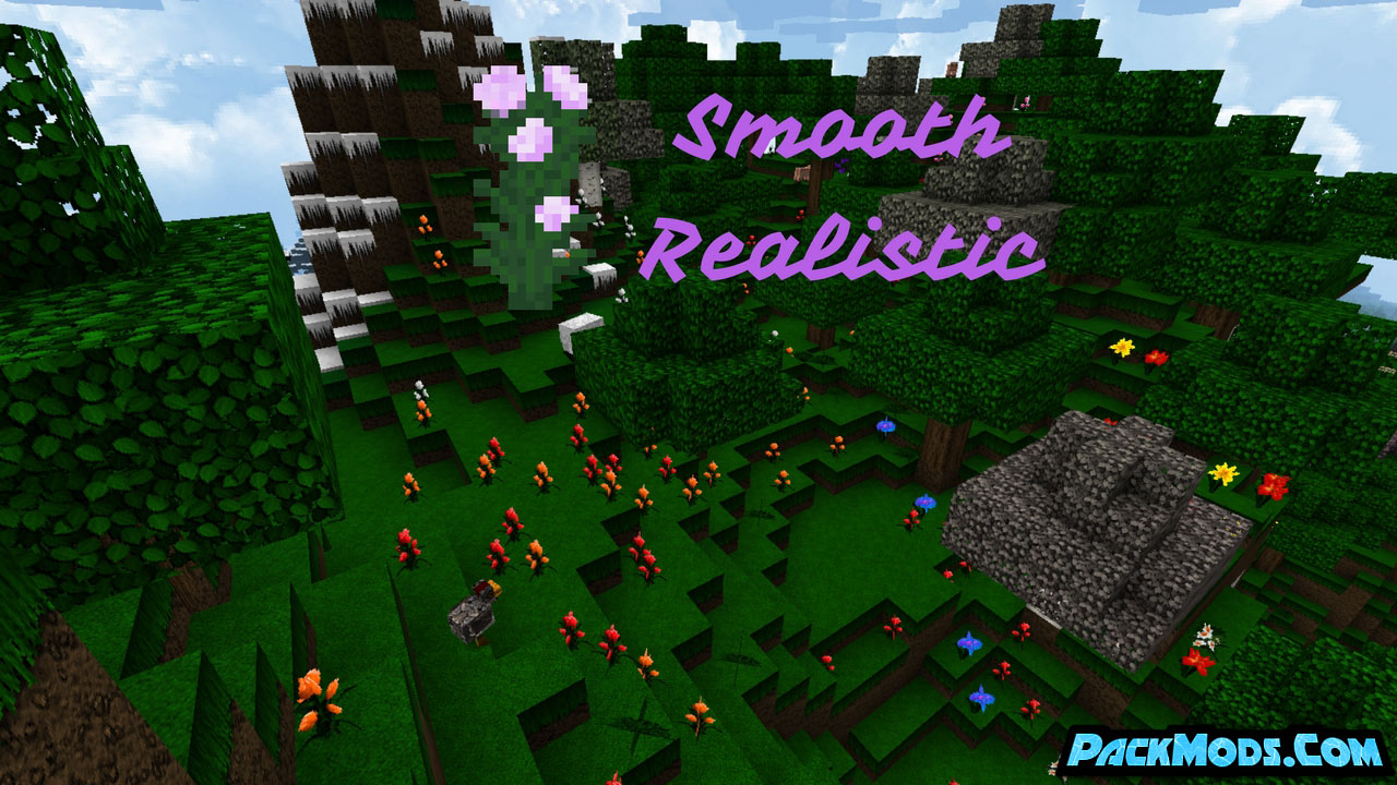 smooth realistic resource pack - Smooth Realistic 1.17/1.16.5 Resource Pack 1.15.2/1.14.4/1.13.2/1.12.2