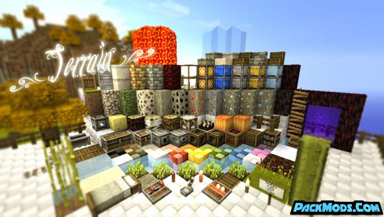 summerfields resource pack 4 - SummerFields 1.17/1.16.4 Resource Pack 1.15.2/1.14.4/1.13.2/1.12.2