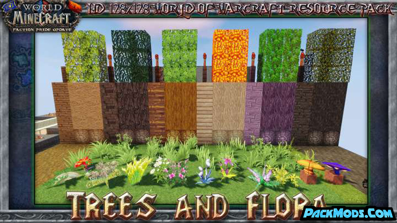 world of minecraft resource pack - World of Minecraft 1.17/1.16.4 Resource Pack 1.15.2/1.14.4/1.13.2/1.12.2
