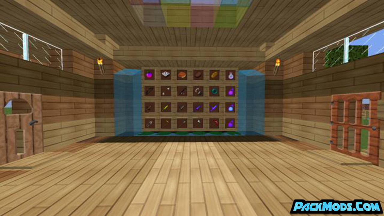 animated rainbow pvp resource pack 2 - Animated Rainbow 1.17/1.16.5 PvP Resource Pack 1.15.2/1.14.4/1.13.2