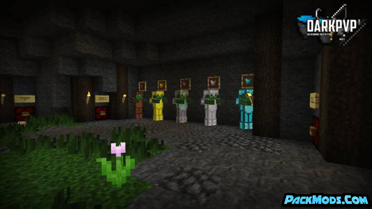 darkpvp resource pack 3 - DarkPvP 1.17/1.16.5 Resource Pack 1.15.2/1.14.4/1.13.2/1.12.2