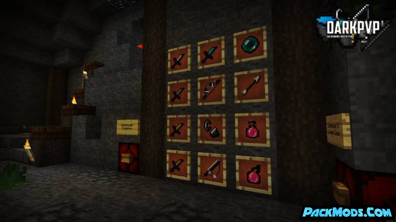 darkpvp resource pack 4 - DarkPvP 1.17/1.16.5 Resource Pack 1.15.2/1.14.4/1.13.2/1.12.2
