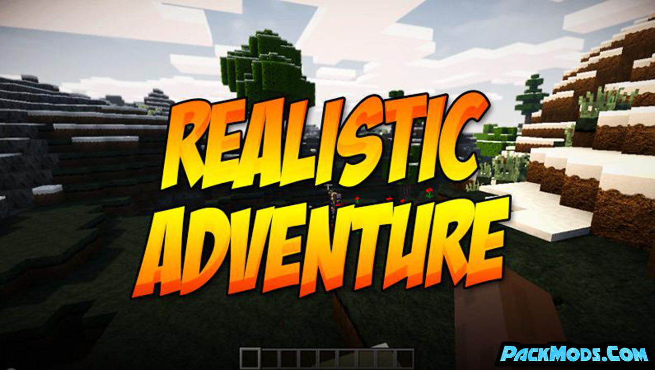 realistic adventure resource pack - Realistic Adventure 1.17/1.16.5 Resource Pack 1.15.2/1.14.4/1.13.2/1.12.2