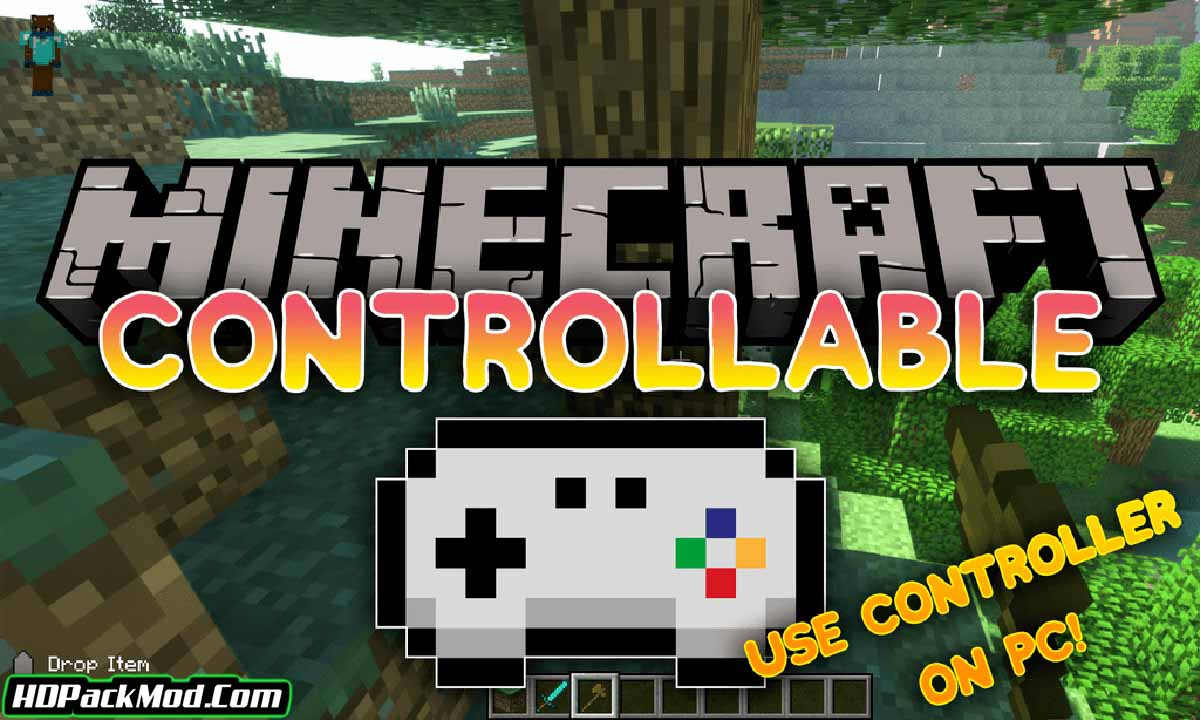 controllable mod - Controllable Mod 1.16.5/1.15.2/1.14.4 (Joystick in Minecraft)