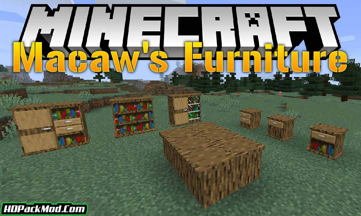 macaws furniture mod - Macaw's Furniture Mod 1.16.5/1.15.2 (Decorate the World with Furniture)