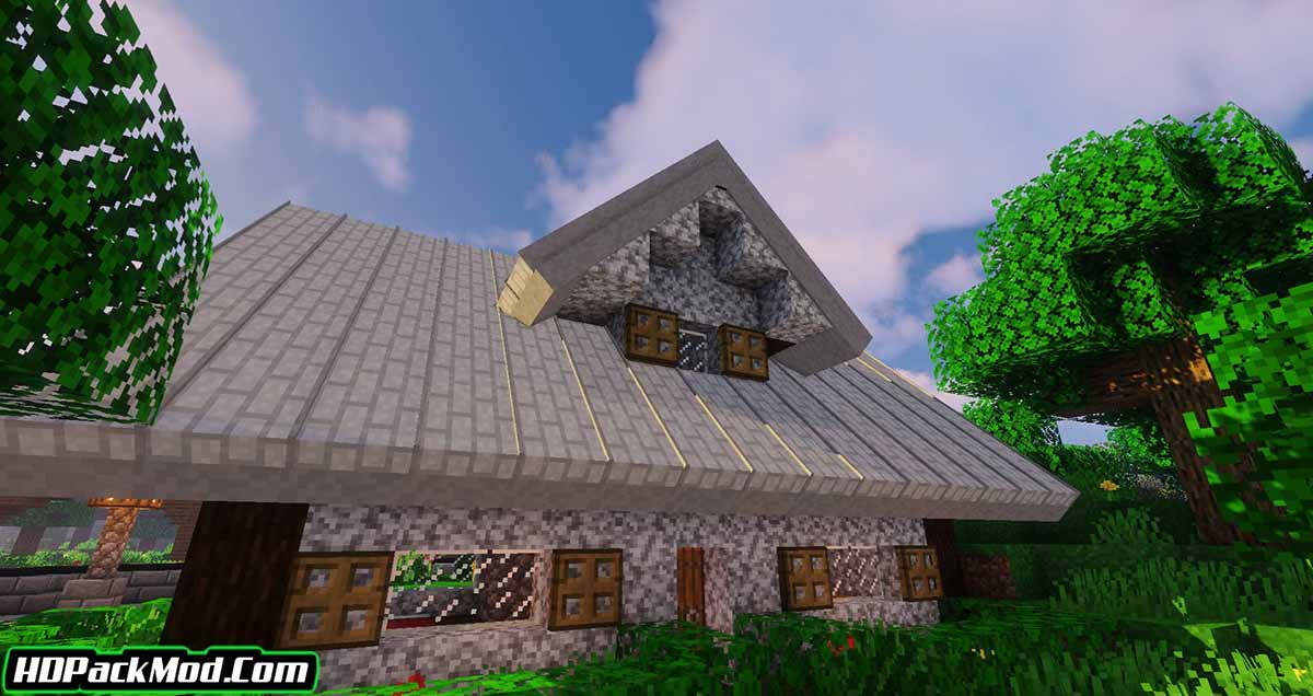 macaws roofs mod 2 - Macaw's Roofs Mod 1.16.5/1.15.2/1.14.4 (Beautiful Roofs)
