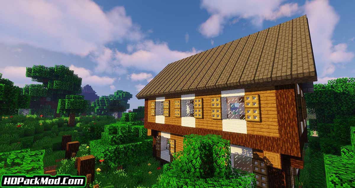 macaws roofs mod 3 - Macaw's Roofs Mod 1.16.5/1.15.2/1.14.4 (Beautiful Roofs)