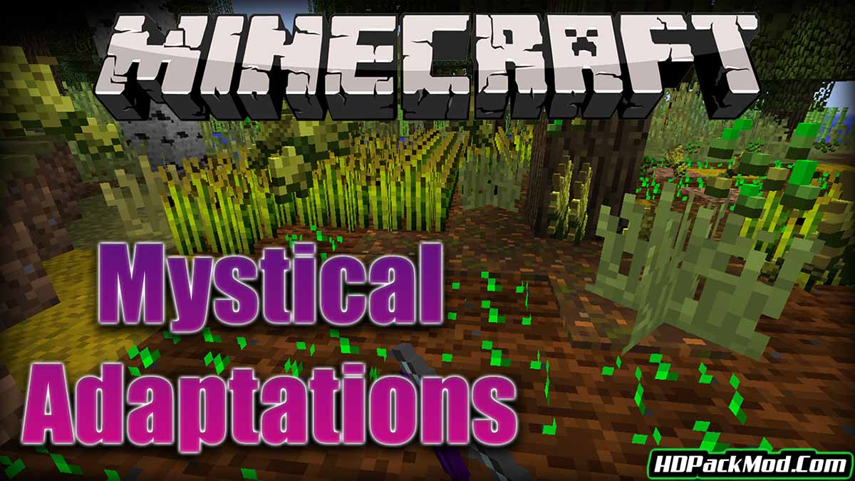 mystical adaptations mod - Mystical Adaptations Mod 1.16.5/1.15.2/1.14.4 (New Items and Armor)