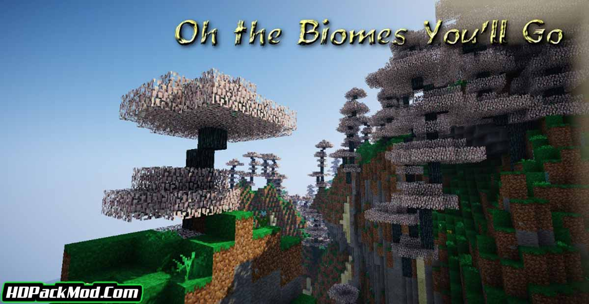 oh the biomes youll go mod 3 - Oh The Biomes You'll Go Mod 1.16.5/1.15.2 (Journey into the Abyss)