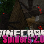spiders 2 0 mod 150x150 - Cinderscapes Mod 1.16.5/1.16.4 (New Infernal Biomes)