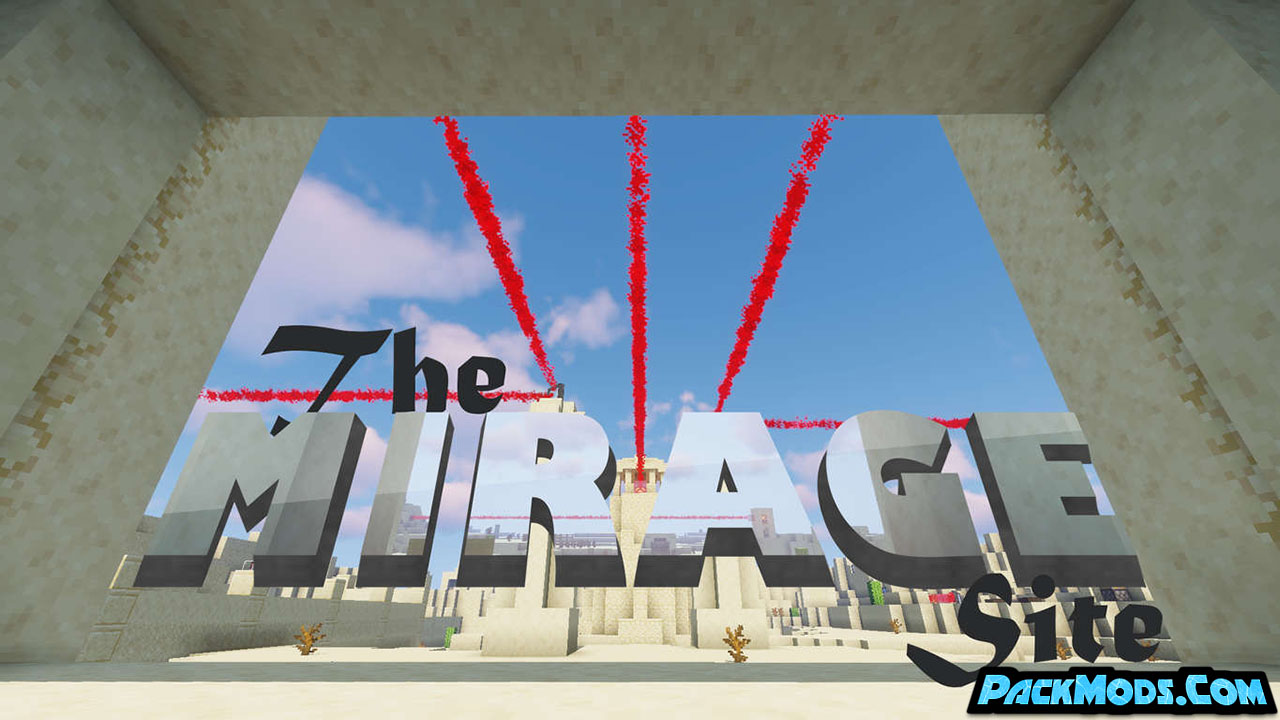 the mirage site map - The Mirage Site Map 1.16.5/1.15.2 (Puzzle)