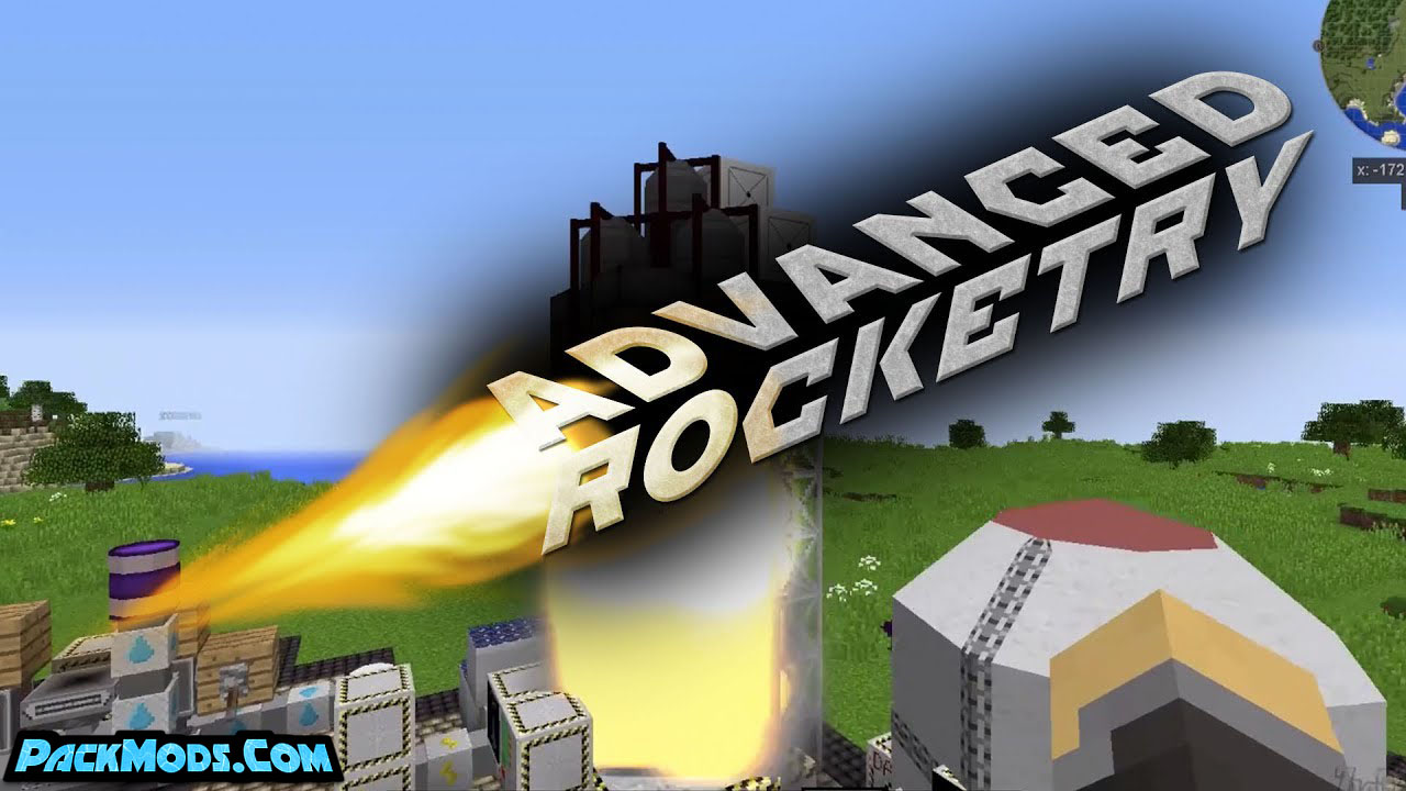 advanced rocketry mod - Advanced Rocketry Mod 1.12.2/1.11.2 (Journey in Space)
