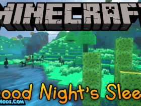 good nights sleep mod 280x210 - Good Night's Sleep Mod 1.16.5/1.15.2/1.14.4 (Into a New World in a Dream)