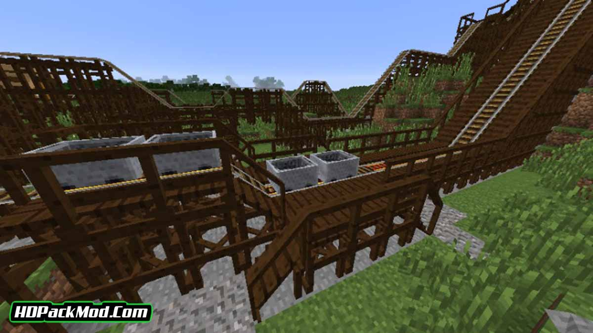 platforms mod 2 - Platforms Mod 1.16.5/1.15.2/1.14.4 (Decor of Platforms and Stations)