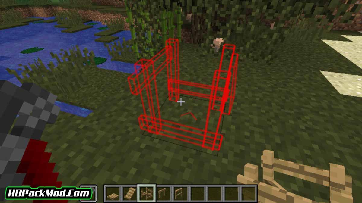 platforms mod 4 - Platforms Mod 1.16.5/1.15.2/1.14.4 (Decor of Platforms and Stations)