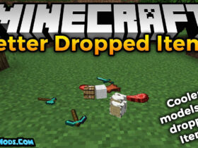 better dropped items mod 280x210 - Better Dropped Items Mod 1.16.5/1.15.2/1.14.4 (Realistic Drop)