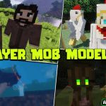 player mob models resource pack 150x150 - Happiness is a Warm Gun Mod 1.16.5 (Demonic Weapon)