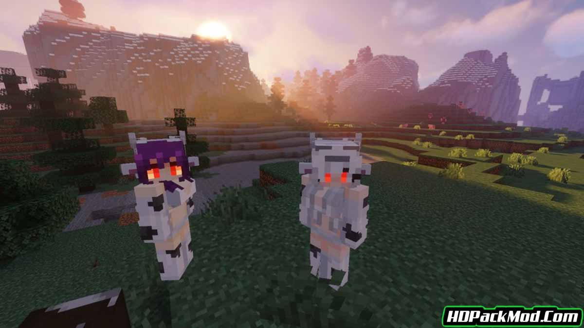 player mob models resource pack 3 - Player Mob Models 1.16.5 Resource Pack 1.15.2/1.14.4/1.12.2 (Player Model Textures)
