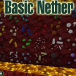 basic nether ores mod 150x150 - Blur Mod 1.17/1.16.5 (Blurring Behind The Interface)