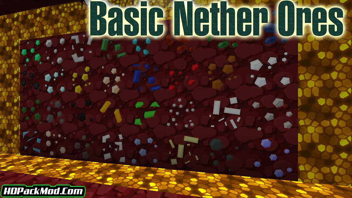 basic nether ores mod - Basic Nether Ores Mod 1.17/1.16.5 (Ore Now in Hell)