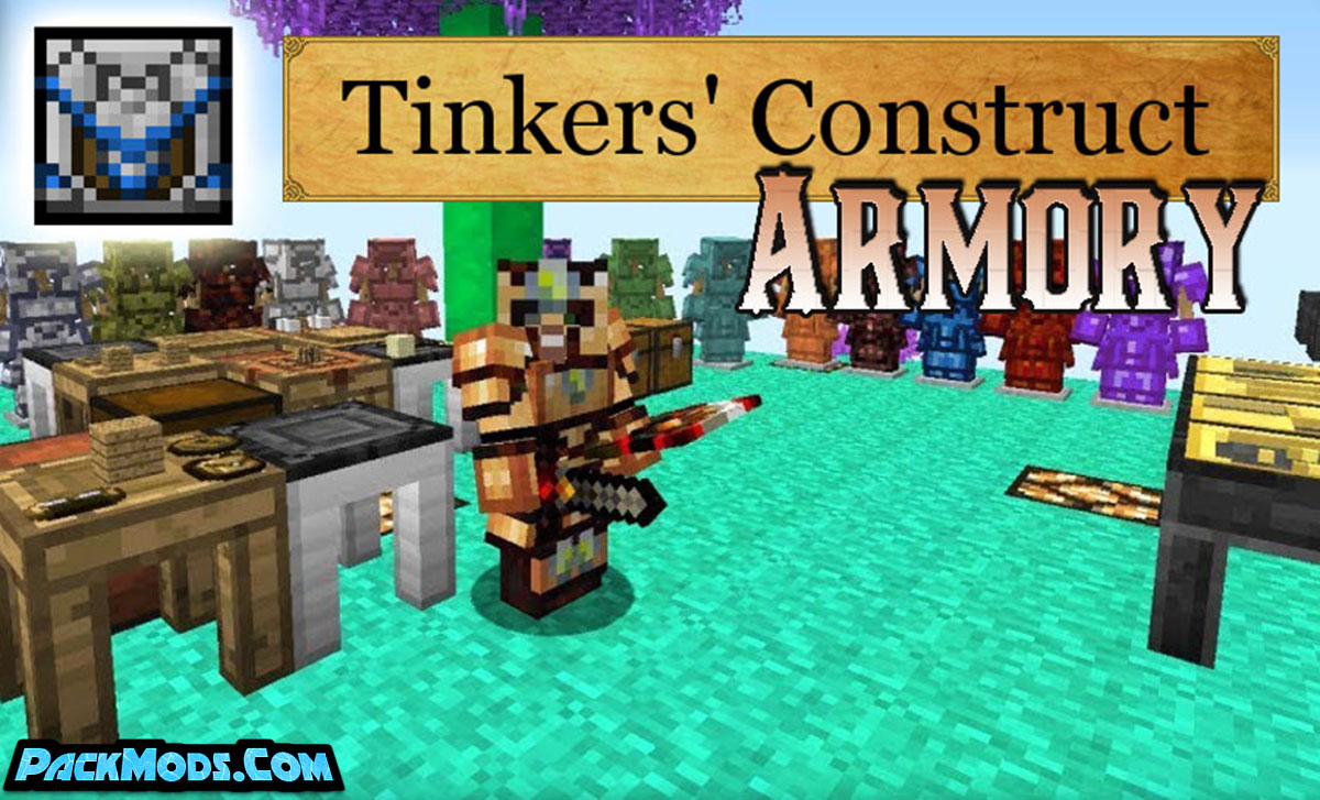 constructs armory mod - Construct's Armory Mod 1.12.2 (Unique Armor)