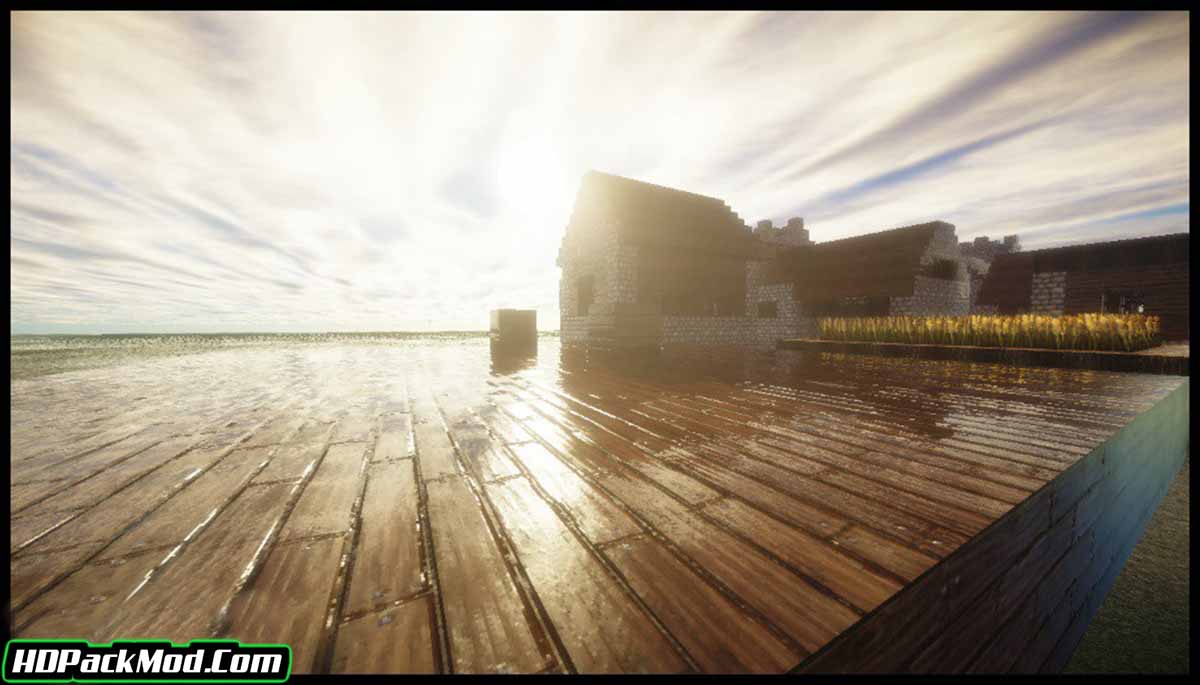 glsl shaders mod 3 - GLSL Shaders Mod 1.17/1.16.5 (Colorful World of Minecraft)