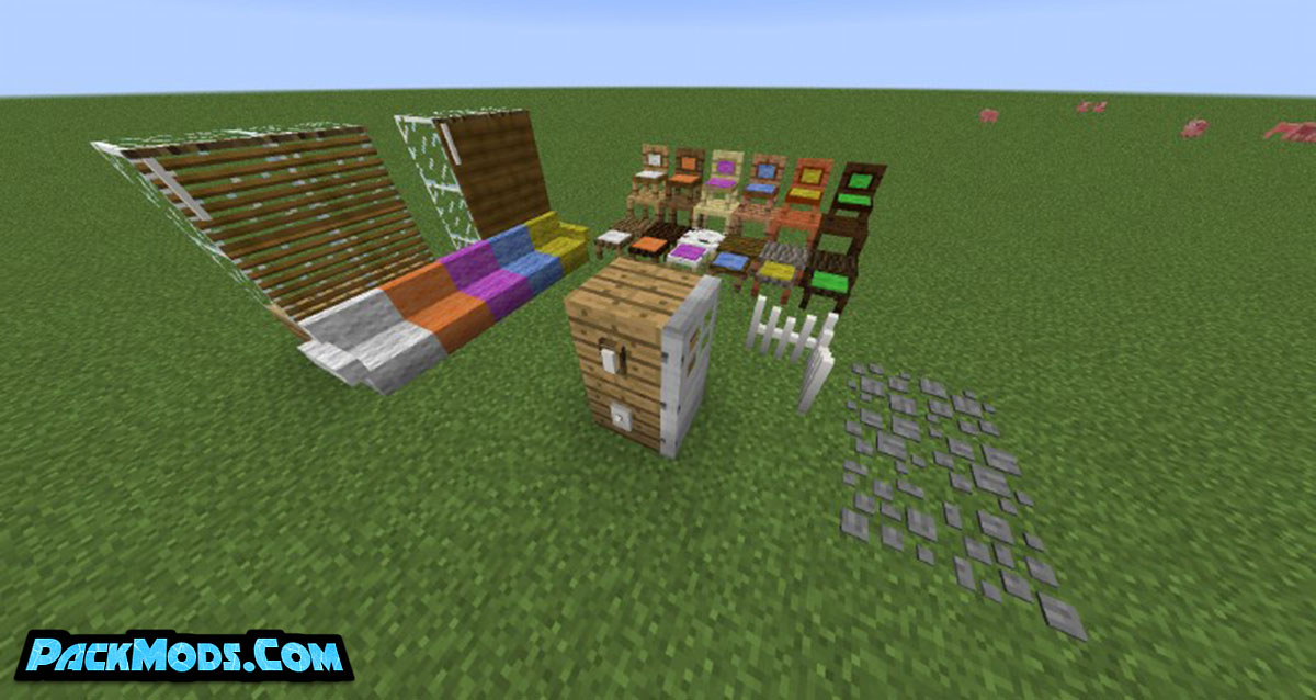 how bout that furniture mod 3 - How 'Bout That Furniture Mod 1.12.2/1.11.2