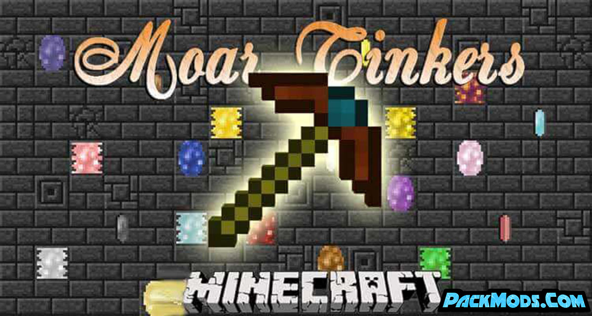 moar tinkers mod - Moar Tinkers Mod 1.12.2/1.10.2 (More Material for Tinkers Construct)