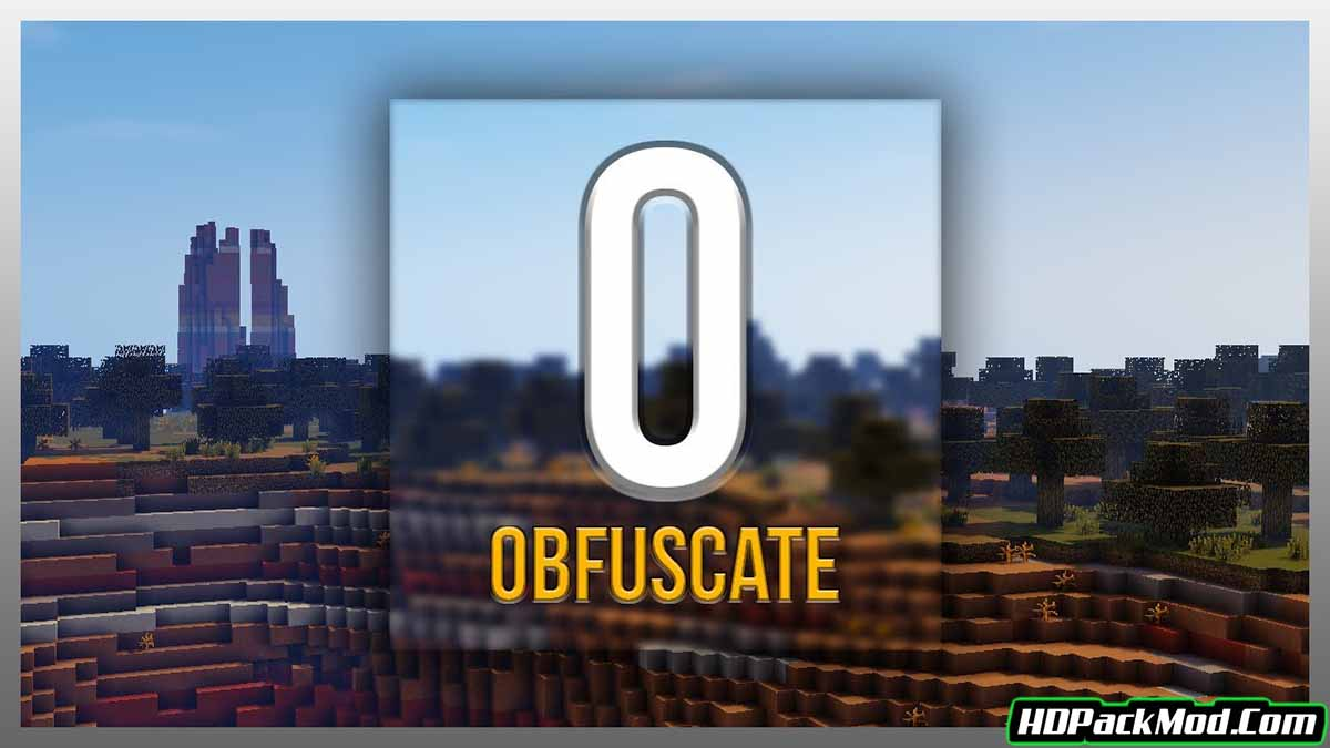 obfuscate mod - Obfuscate Mod 1.16.5/1.15.2 (Library)
