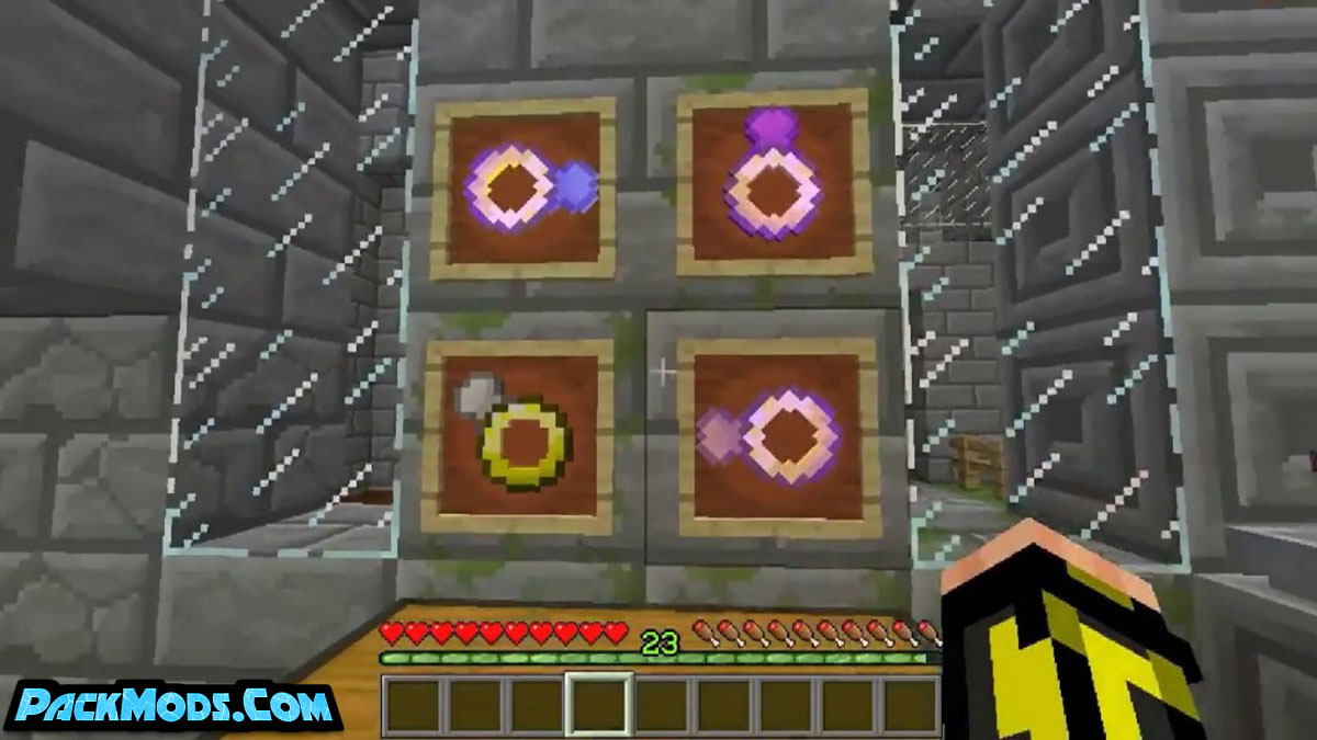 potion fingers mod 2 - Potion Fingers Mod 1.12.2 (Rings That Add Potion Effects)