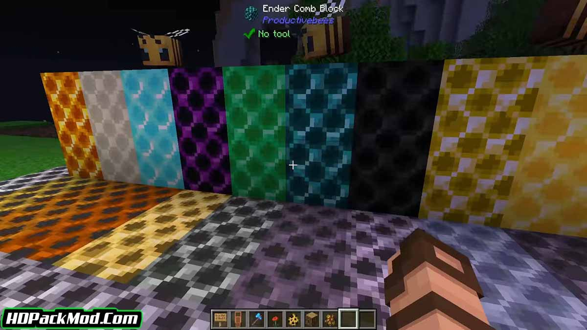 productive bees mod 3 - Productive Bees Mod 1.17.1/1.16.5 (Renewal of Bees)