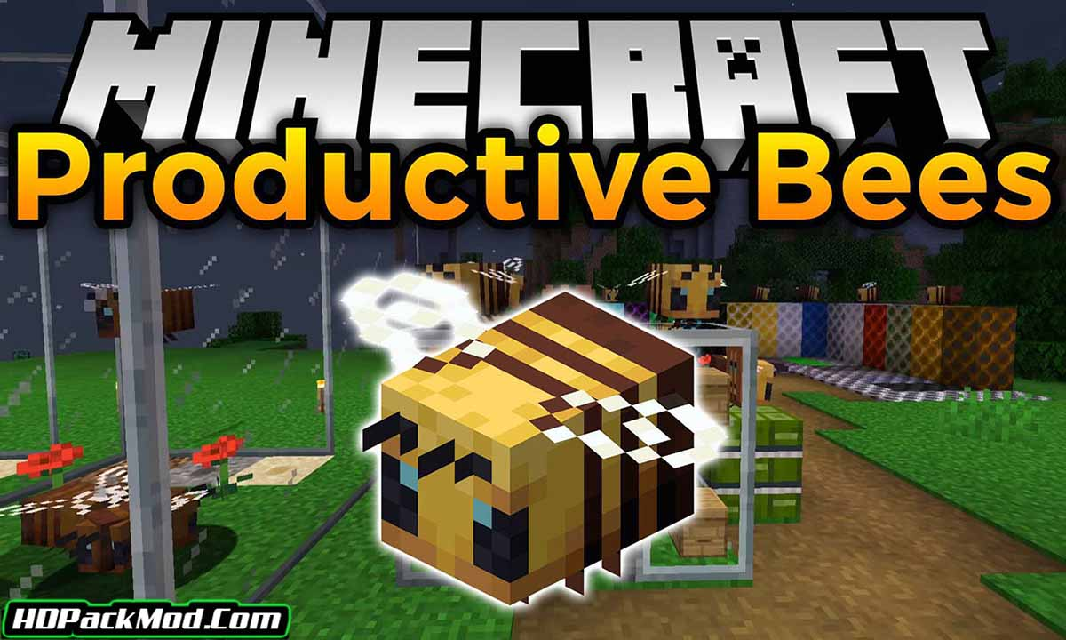 productive bees mod - Productive Bees Mod 1.17.1/1.16.5 (Renewal of Bees)