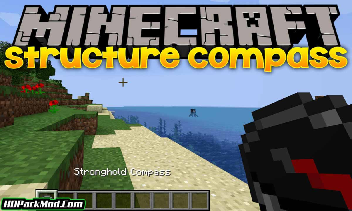 structure compass mod - Structure Compass Mod 1.16.5/1.15.2 (Compass to Find Structures)