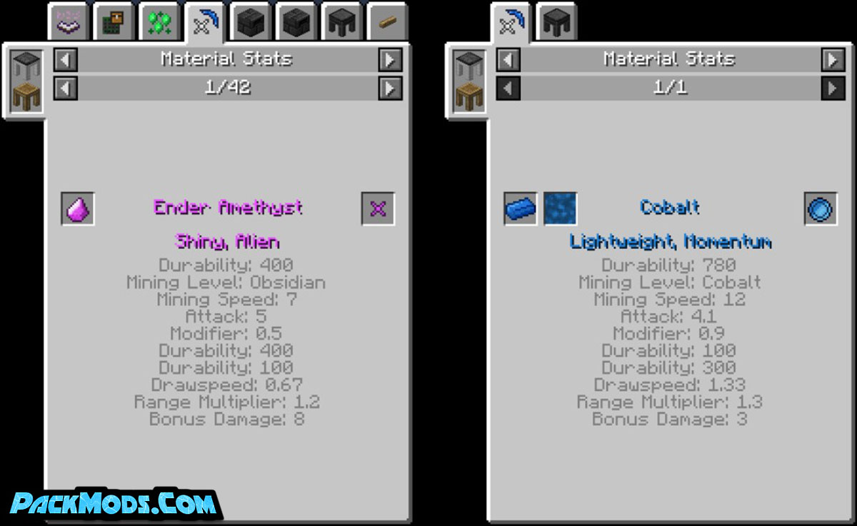 tinkers jei mod 2 - Tinker's JEI Mod 1.12.2 (TConstruct + Just Enough Items)