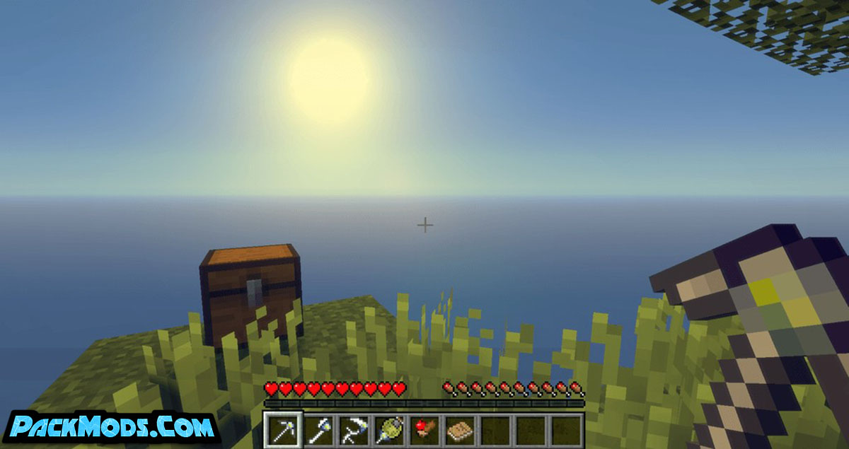 tinkers skyblock mod 2 - Tinkers Skyblock Mod 1.12.2 (Reduce The Earlygame Downtime)