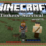 tinkers survival mod 150x150 - Pewter Mod 1.12.2 (Sixteen Tinkers Construct Materials)