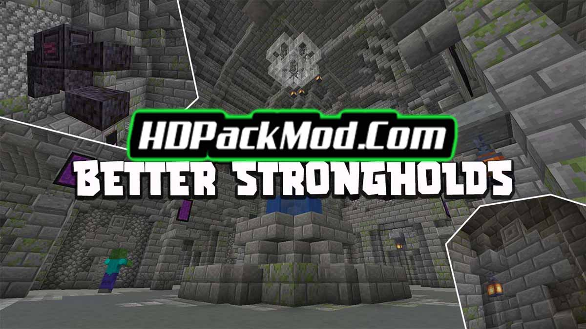 better strongholds mod - Better Strongholds Mod 1.17.1/1.16.5 (Improved Fortress)