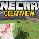 cleanview mod 150x150 - Ring of The Miner Mod 1.17.1/1.16.5 (Smash All The Blocks Around)